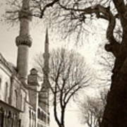 A View From Blue Mosque Art Print