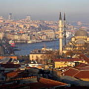 A View From Istanbul Art Print