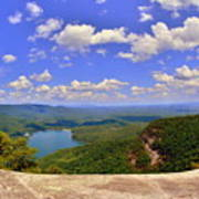A View From Table Rock South Carolina Art Print