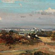 A View In Suffolk Art Print