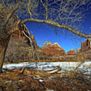 A View In Zion Art Print