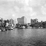 A View Of Miami Art Print