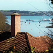 A View Of Mylor Harbour Art Print