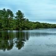 A View Of The Lake Art Print