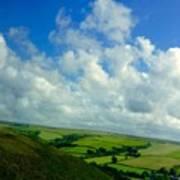 A View Over Exmoor Art Print