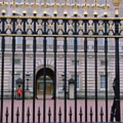 A View Through The Gates At Buckingham Art Print