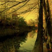 A Vision Of Autumn Art Print