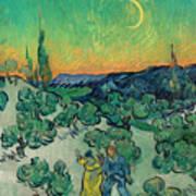 A Walk At Twilight Art Print