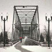 A Walk Through Time Art Print by Lori Deiter