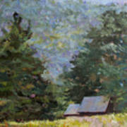 A Walk To Great Meadow Art Print