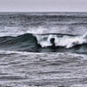 A Wave On The Ocean Art Print