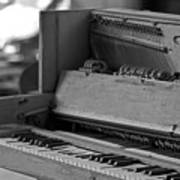 A Weathered Piano Art Print