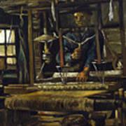 A Weavers Cottage Art Print