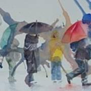 A Wet Wait Art Print