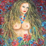 A Woman's Heart Art Print
