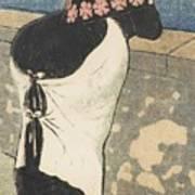 A Women On The Coas Art Print