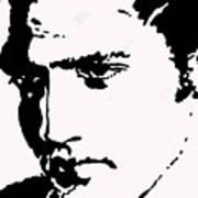 A Young Elvis Art Print