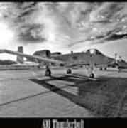 A10 Thunderbolt Art Print