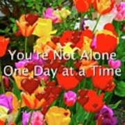 Aa One Day At A Time Art Print
