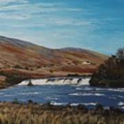 Aasleagh Falls Art Print