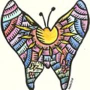 Ababang Guam Butterfly 2009 Art Print