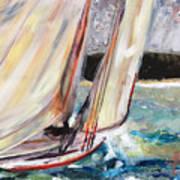 Abaco Dinghy Race II Art Print