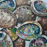 Abalone Shells Art Print