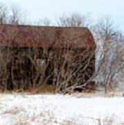 Abandoned Barn Art Print
