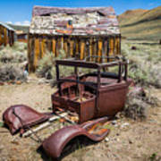 Abandoned Cars, Bodie Ghost Town Art Print