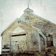 Abandoned Church 1 Art Print