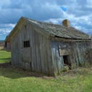 Abandoned Farm Building Art Print