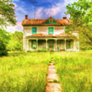 Abandoned Farm House Art Print