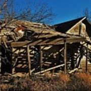 Abandoned Farmhouse In Kansas Art Print
