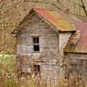 Abandoned Farmhouse In Kentucky Art Print