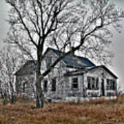 Abandoned Farmhouse Art Print