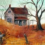Abandoned Farmhouse Art Print