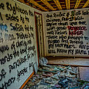 Abandoned House, Full Of Hope Art Print