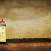 Abandoned Lighthouse Art Print by Meirion Matthias