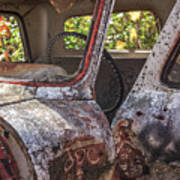 Abandoned Old Truck Newport New Hampshire Art Print