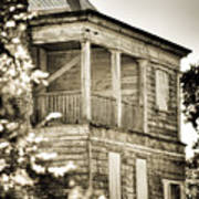 Abandoned Plantation House #4 Art Print
