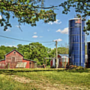 Abandoned Spring Farm Art Print