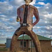 Abandoned Texas #3 Art Print