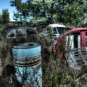 Abandoned Vehicles - Veicoli Abbandonati  1 Art Print