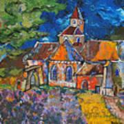 Abbaye De Senanque Art Print