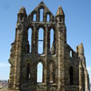 Abbey At Whitby  Art Print