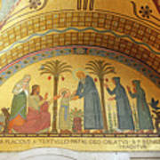 Abbey Mosaic Art Print
