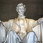 Abe Down To His Knees Art Print
