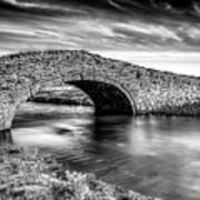 Aberffraw Bridge V2 Art Print