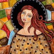 Abigail Art Print by Rain Ririn
