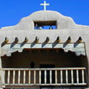 Abiquiu Church Number 2 Art Print by Joseph R Luciano